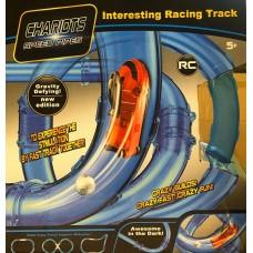 ТРЕК гоночный в трубе на р/у 022-5 Chariots Speed  (светится в темноте) 16 деталей,арт. 022-5