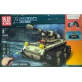 Конструктор-танк,ездит на р/у,арт. 13010