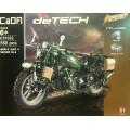 Конструктор-мотоцикл 42 см, серии TECHNIC,550 деталей,на р/у,акк+USB,арт.C51022W