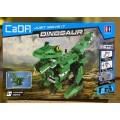 Конструктор Крокодил/Динозавр, 2 в 1,450 деталей,акк+USB,арт.C51035W