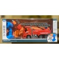 Конструктор-пожарная машина,отвертка,шуруповерт,на р/у ,арт.BS-R5