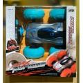 Машина -перевертыш большая со цветными надувными колесами,арт. 976