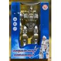 Робот серии  Стальная команда на батарейках,свет,звук,русское озвучивание,арт. ZYA-A2740-1