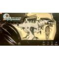 Робот-динозавр ТИРЕКС на р/у,звук,свет,запуск по отпечатку,стрельба мягкими ракетами,русская упако