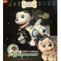 Робот-собака ДРУЖОК,сенсорные датчики,программируется,свет,звук,лай,арт. ZYB-B2856