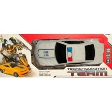 Машина-трансформер на р/у,свет,звук,29 см.,акк.+з/у,USB-зарядка,арт. 5013Е