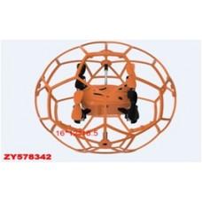 Квадрокоптер в сетке на р/у,арт. 1340