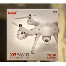 Квадрокоптер SYMA X8SW-D ,новая модель с поворотной камерой , 2,4  ГГц с барометрическим датчиком